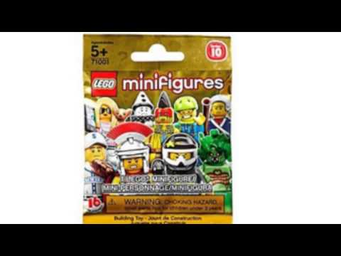 Video YouTube video ad of the 71001 Minifigures Series 10