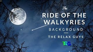 """Richard Wagner - Ride of the Walkyries - Classical Music with Audio Spectrum Background ♫ 62● Leave a LIKE, Comment & Subscribe!  ● Join us on Youtube for weekly update: https://goo.gl/Hry5Ut● Franz Liszt, Hungarian Rhapsody No 2, Orchestral Version, 1 Hour Version Classical Music ☯61 https://goo.gl/vFxtR9The Relax Guys on Social Media:● Facebook: https://www.facebook.com/therelaxguys/● Twitter: https://twitter.com/TheRelaxGuys● Instagram: https://www.instagram.com/therelaxguys/● VK: https://vk.com/therelaxguys● Youtube: https://www.youtube.com/therelaxguyzRichard Wagner - Ride of the Walkyries;The """"Ride of the Valkyries"""" (German: Walkürenritt or Ritt der Walküren) is the popular term for the beginning of act 3 of Die Walküre, the second of the four operas by Richard Wagner that constitute Der Ring des Nibelungen..As a separate piece, the """"Ride"""" is often heard in a purely instrumental version, which may be as short as three minutes. Together with the """"Bridal Chorus"""" from Lohengrin, the """"Ride of the Valkyries"""" is one of Wagner's best-known pieces."""