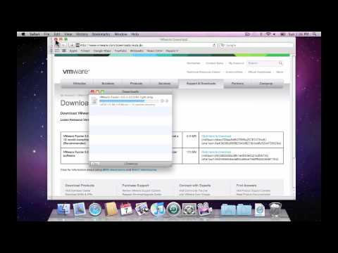 How to download and install VMware Fusion