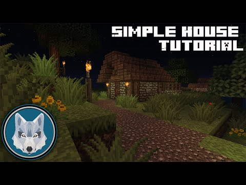 Minecraft Simple Starter House Minecraft Project