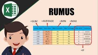 Nonton Mudah   Rumus Sum  Average  Min  Max  Dan If Di Ms  Excel Film Subtitle Indonesia Streaming Movie Download