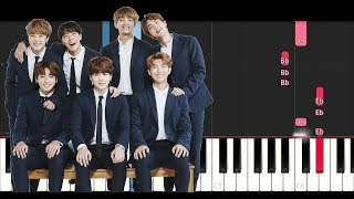 Video Bts  - Serendipity (Piano Tutorial) MP3, 3GP, MP4, WEBM, AVI, FLV April 2018