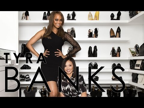 Celebrity Closets with Lisa Adams / Tyra Banks Closet Slideshow