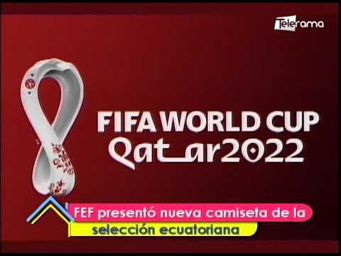 FEF presentó nueva camiseta de la selección ecuatoriana