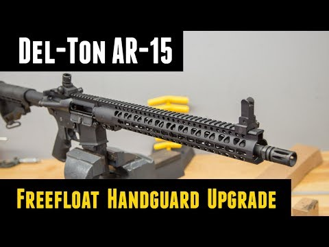 AR-15 Freefloat Handguard Upgrade Step-by-Step from Midsouth Shooters Supply