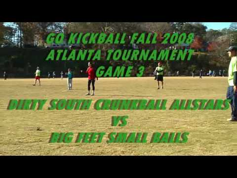 (3) Dirty South Crunkball Allstars vs Big Feet Small Balls - HD
