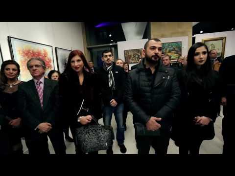 "The opening of the Arame Art Gallery ""Enchanted Reality"" exposition in Beirut"