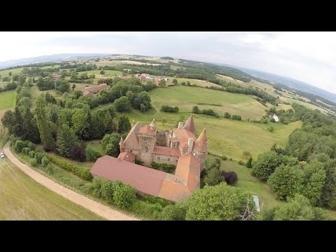 Saint-Beauzire Drone Video