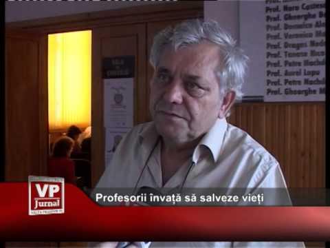 Profesorii învață să salveze vieți