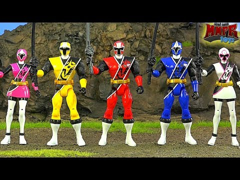 Power Rangers Ninja Steel Toy Animation