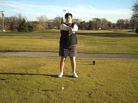 Golf – Full Swing Motion Drills – Golf Lessons with Rachel Teresi, LPGA – Chicago