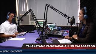 Episode 1 with Regional Executive Director Arnel de Mesa