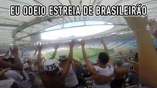Facebook: Santos Depressivo (facebook.com/santosdepressivo)Instagram: @santosdepressivoSnapchat: santosdepre1912Aqui está o nosso vídeo de arquibancada da estreia do Santos no Brasileirão 2017, onde perdemos por 3x2 para o Fluminense no Maracanã. Não foi dessa vez que o tabu de 12 anos estreando sem vitória em Brasileirão foi quebrado, mas não faltou apoio da torcida do Peixão!SOBRE O JOGO:Com dois gols de Dourado, Fluminense mostra força e vence o SantosApós ter suas últimas atuações questionadas, o Fluminense mostrou força e venceu por 3 a 2 o Santos, neste domingo, no Maracanã, na estreia do Campeonato Brasileiro. Com o resultado, os tricolores conquistam a primeira vitória na competição, já que os jogos de sábado terminaram empatados. Já os santistas tiveram finalizada a sequência de bons resultados.Os donos da casa souberam aproveitar melhor os as chances criadas, principalmente no primeiro tempo. Henrique Dourado abriu o placar para o Fluminense, mas viu o Santos empatar com Victor Ferraz. Antes do intervalo, novamente Henrique Dourado deixou os cariocas a frente. Na etapa final, os tricolores chegaram ao terceiro, com Sornoza. Já no fim, os visitantes diminuíram com Hernandez, mas não tiveram tempo para igualar o placar.Na próxima rodada, o Fluminense vai até Belo Horizonte para encarar o Atlético-MG, no domingo. Já no sábado, o Santos terá pela frente o Coritiba, na Vila Belmiro.FICHA TÉCNICA:FLUMINENSE 3 X 2 SANTOSLocal: Estádio do Maracanã, no Rio de Janeiro (RJ)Data: 14 de maio de 2017, domingoHorário: 11 horas (de Brasília)Árbitro: Wagner Reway (MT)Assistentes: Fabio Rodrigo Rubinho e Marcelo Grando (ambos do MT)Renda: R$ 305.610,00Público: 9.880 pagantesCartões amarelos: Léo (Fluminense); Victor Ferraz, Bruno Henrique, Lucas Veríssimo, Lucas Lima e Ricardo Oliveira (Santos)GOLSFLUMINENSE: Henrique Dourado, aos 3 e 47min do primeiro tempo; Sornoza, aos 12min do segundo tempoSANTOS: Victor Ferraz, aos 38min do primeiro tempo; Hernandez, aos 42min do segun