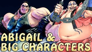 """Season 2 of Street Fighter V now has its fourth DLC character officially revealed: Abigail, the giant car aficionado from Final Fight. Not everybody liked his design, though, with some people even wondering if the goliath could be thrown or crossed over.I don't know if this will change anyone's mind, but allow me to show you a few examples of how having a huge character in the roster isn't something new.If you enjoy the video, please remember to like, share and subscribe. You know, all those boring things youtubers keep asking you to do it. Sorry to be another one, but it really does help.Also, maybe you wanna follow the channel on Facebook for more updates? Check us out on www.facebook.com/cammyplayerOh, and one more thing: I do realize I should be saying """"tall"""" instead of """"high"""", but, to be honest, I only noticed that after the video was ready and it would just be way too much problem to go back and change it, so what the hell... =P"""