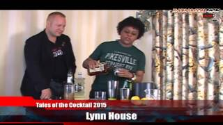 Flairbar.com Show with Lynn House behind the bar @ Tales of the Cocktail 2015!