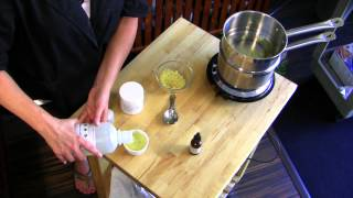 How To Make Lanolin&Beeswax Skin Cream : Natural Skin Care