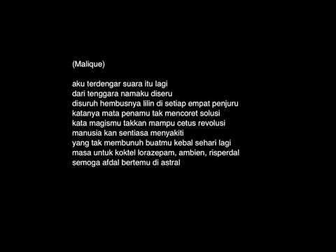 Malique   Pejamkan Mata feat  Dayang Nurfaizah Official Lyric Video