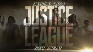 Justice League: Set Visit Report - Everything you need to know about Zack Snyder's superhero epic by JoBlo Movie Trailers