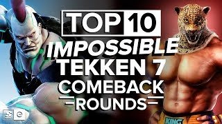 Video The Top 10 Impossible Tekken 7 Comeback Rounds MP3, 3GP, MP4, WEBM, AVI, FLV Agustus 2019