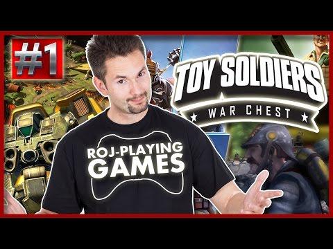 TOY SOLDIERS WAR CHEST #1 | WIEŻA JUŻ MI STOI | 60FPS GAMEPLAY