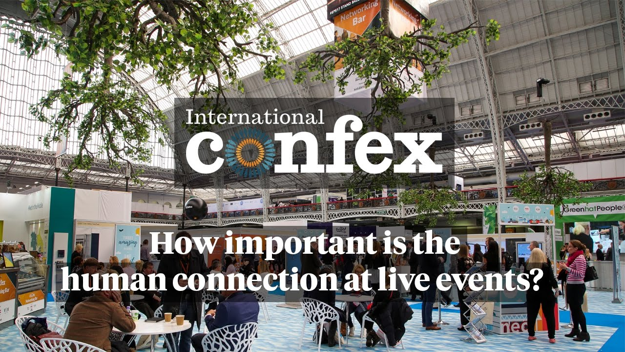 How important is the human connection at live events?