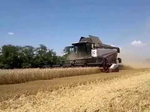 Новый российский комбайн RSM 161