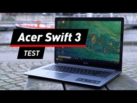 Notebook Acer Swift 3 im Test: AMD Ryzen macht Damp ...