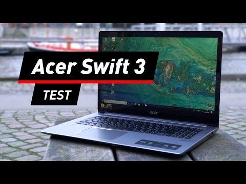 Notebook Acer Swift 3 im Test: AMD Ryzen macht Dampf
