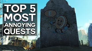 Signal interception?  That doesn't sound too bad..  Here, I list my Top 5 Most Annoying Quests in Fallout 4.  Given their nature, some of these are probably the hardest quests you'll do as well.  But the worst ending is not doing them at all.  ...  Right?  I also do other Top 5s, like Fallout 4 secrets.  There are secret locations, even secret enemies and quests to be found.  Which usually lead to weird theories or your own fan theory.Since I'm on PC, I love the Fallout 4 new mods.  There are quest mods and companion mods that are outstanding.  They make creating character builds, or finding sad deaths, or rare encounters, or even the hardest enemy you've ever seen a lot more fun.Please like, comment, and subscribe, and if you want to talk, my other social media is below : )https://www.instagram.com/graenolfhttps://www.facebook.com/graenolf