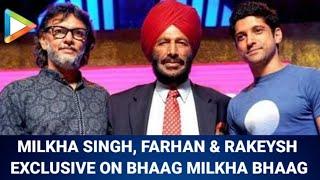 Farhan Akhtar, Milkha Singh & Rakeysh Mehra on Bhaag Milkha Bhaag