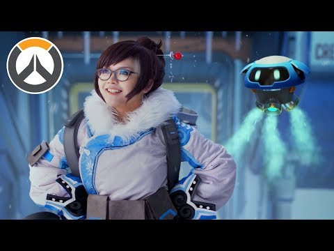 "Overwatch - ""A Mei In The Life"" [live Action]"