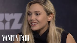 Nonton Elizabeth Olsen Talks Romancing Tom Hiddleston's