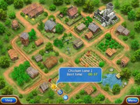 Скриншоты игры Веселая ферма 2 (Farm Frenzy 2) android