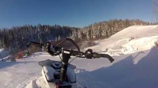 3. How to unstuck the cat ! Arctic Cat M8000 162 2015