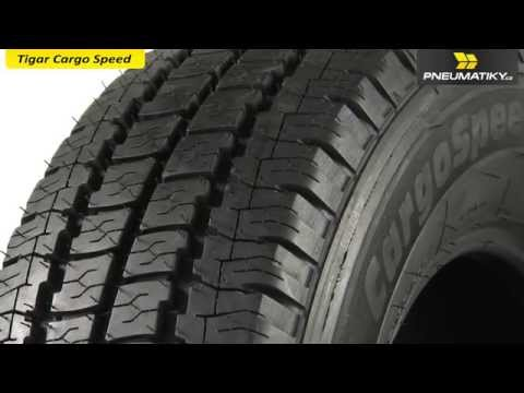 Youtube Tigar Cargo Speed 185/75 R16 C 104/102 R Letní