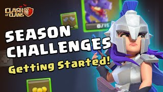 Clash of Clans: Getting Started With Season Challenges!
