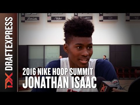 2016 Jonathan Isaac Nike Hoop Summit Interview - DraftExpress