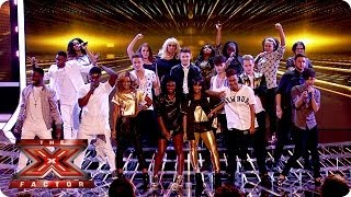 Nonton The Final 12 Sing Get Lucky   Live Week 1   The X Factor Uk 2013 Film Subtitle Indonesia Streaming Movie Download