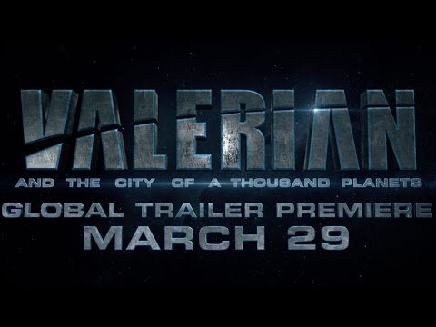 Valerian and the City of a Thousand Planets (Trailer Sneak Peek)