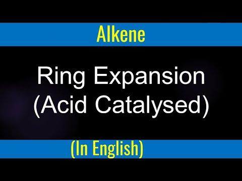 Organische Chemie: Mechanism - Säurekatalysierte Ringerweiterung