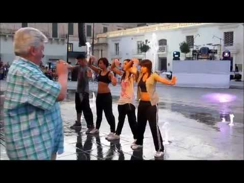Waterfall Dancers Crew Performing @ Notte Bianca Malta 2011