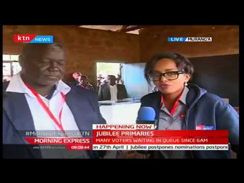 Organised Murang'a electorate run nomination exercise smoothly