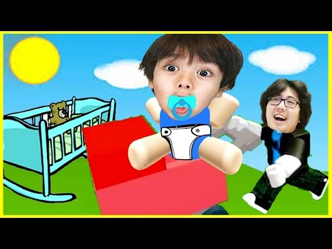 ROBLOX Adopt and raise a cute kid! Let's Play Family Game Night with Ryan's Family Review