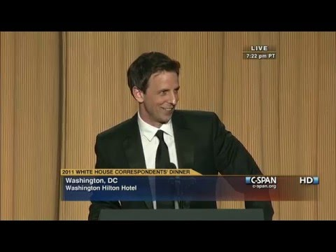 C-SPAN: Seth Meyers remarks at the 2011 White House Correspondents' Dinner