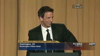 Video C-SPAN: Seth Meyers remarks at the 2011 White House Correspondents' Dinner MP3, 3GP, MP4, WEBM, AVI, FLV April 2018