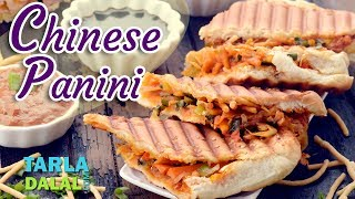 Chinese Panini recipe by Tarla Dalal