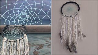 DIY Dream Catcher // SoCraftastic - Room Decor How To - YouTube