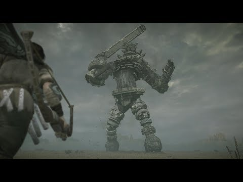 Shadow Of The Colossus PS4 3 Gaius Boss Fight