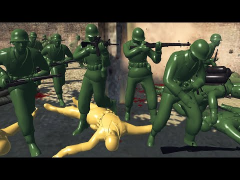 Army Men DEATH TUNNEL Charge! - Army Men: Civil War S2E22