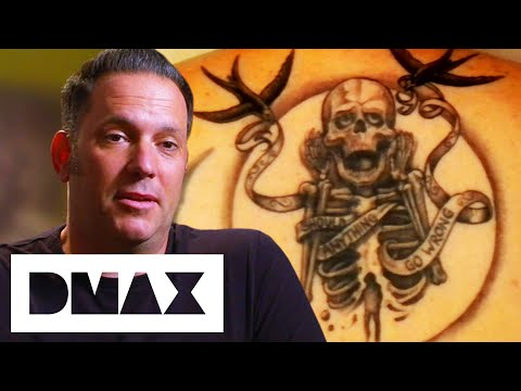 Corey Miller Freestyles Awesome Back Tattoo For Trever Keith | LA Ink